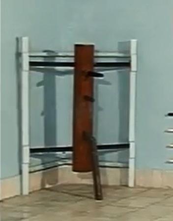 вин чун ип ман деревянный манекен